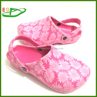 2015 EGA0626-01Cheap Women Chef Shoes with printing patterns Pink Fuxia etc Factory Offer