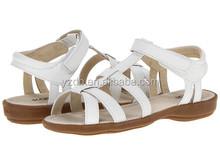 girls summer white sandals 2015