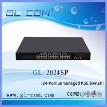 6 8 12 24 -Port unmanaged PoE Switch Networking 8.8 Gbps Switching Capacity 24 -Port supply power to PoE Powered Device
