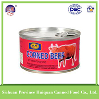 Hot china products wholesale canned beef/canned food ready to eat beef luncheon meat