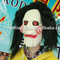 Masquerade Jigsaw mask/ Scary Movie Saw masks for Halloween