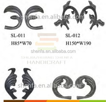 cast iron fence steel part elements for sale