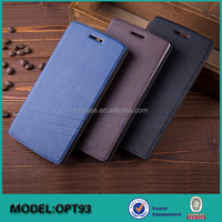 Hot selling Flip leather folio mobile phone case covers for oneplus two