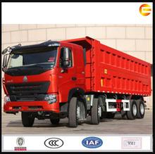 howo a7 8x4 china camión punta