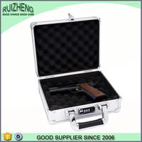 Professional custom logo leather gun case
