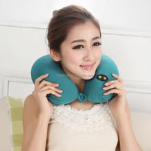 OEM Neck Massage Pillow/Cushion electric cervical vertebra Car U massage pillow for Drive