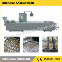SMV-320/420/520 Thermoforming Stretch Automatic Meat Filling Machine