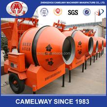 Hot sale Camelway Simple JZC350 Mobile concrete mixer