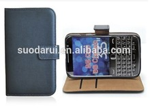 Mix Colors for BlackBerry Q20 Book Stand Wallet Leather Case Cover