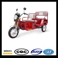 SBDM Motorcycle Folding Electric Tricycle For Passenger
