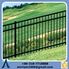 Used Aluminium Fence With Long Life/Useful Cheap Security Fence For Balcony/Black Short Metal Fence For Sale