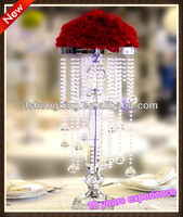 Sale by bulk Elegant Crystal table top chandelier centerpieces for wedding decorate