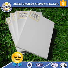White pvc integral foam sheet for decorative backboard