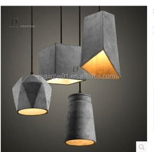 Outdoor Waterproof real a concrete pendant light/ lighting - indoor lighting /pendant lights