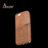 Good quality ultra-thin genuine leather mobile phone case for iphone 6