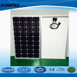 A-grade cell high efficiency 130 W mono solar panels