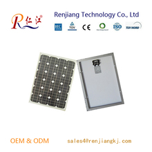 High quality low price Chinese 18V 50W mono solar panel for sale
