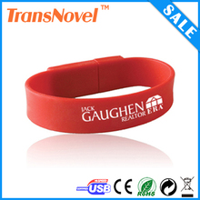 Hotsale blue bracelet usb flash drive,bulk cheap thumb drive 2gb,4gb,8gb,16gb,32gb usb disk,wholesale price usb memory
