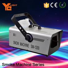 Trade Assured Stage Light Factory Snow Spray 3m Snow Making Machine For Parties