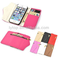 flip case for iphone5 5s, Zipper Wallet leather Case for iPhone 5 5s
