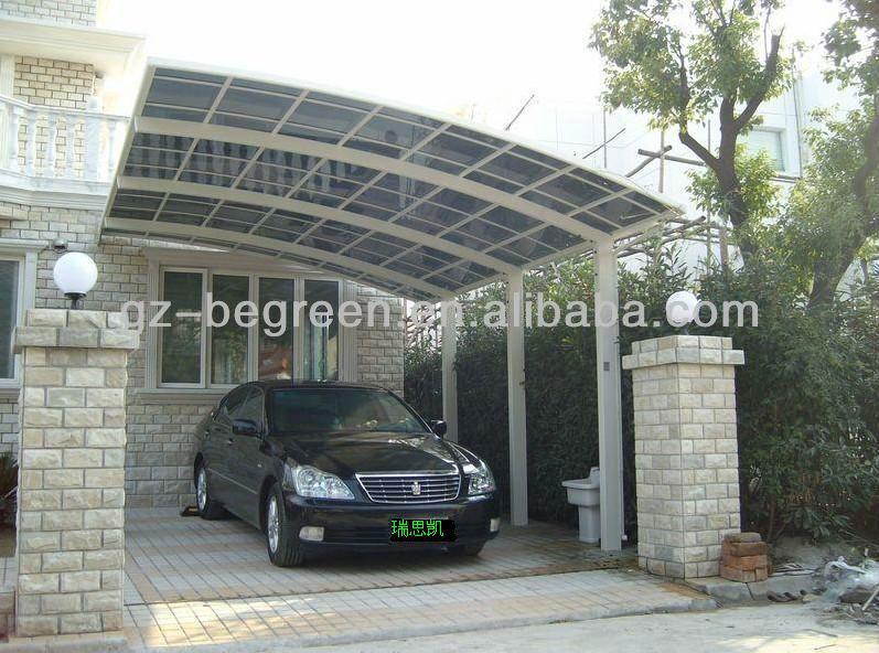 Policarbonato exterior garaje tent para el coche - Garaje para coches ...