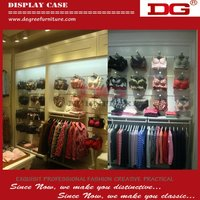 Simple style high quality interior design decoration shop,clothes decoration shop