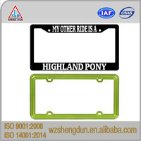 license plate frame decorative plate holder with high quality