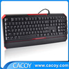 Hot sale high quality LED light wired gaming Mechanical Keyboard