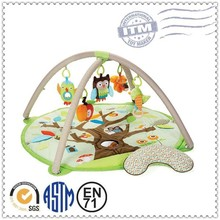 New design indoor lovely kids custom baby care play mat