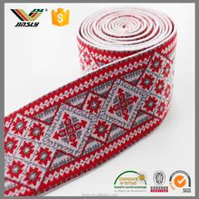 3.8cm wholesale Woven elastic for underwear colorful custom nylon elastic