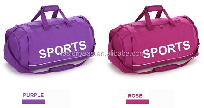 2015 Top fashion meilleure promotion nylon duffel bag voyage sac