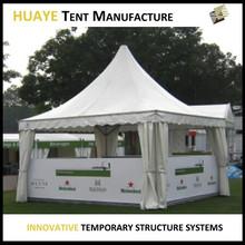 White wind resistant garden luxury gazebo tent 3x3 for sale