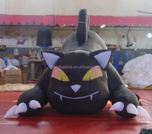 giant advertising inflatable cat cartoon