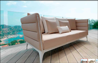 ck0519 Hot sell outdoor sectional leather sofa