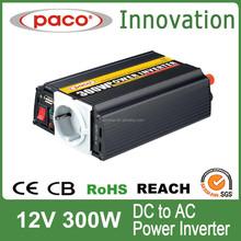 LIGAO/PACO 300watt Inverter prices Car inverter AC 230V DC 12V intelligent PWM