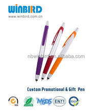 salable beautiful colored plastic ballpoint pen in 2015 and best for office, school and promotion