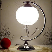 fancy table lamp for home decorations/glass led table lamp