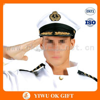 Taffeta custom captain hats, royal navy uniform, french navy uniforms