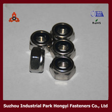 DIN982 DIN985 white zinc plated lock nuts