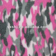 100 Polyester Printed Camo Polar Fleece Fabric