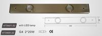 KT5401.02with LED lamp/KT5400.02 G4 2*20W Cabinet Lights