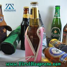 Professional Custom 3mm Thick Neoprene Bottle Cooler For Beer Bottle