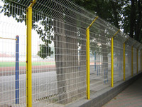 ALD wire mesh fencing powder coating
