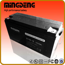 MINGDENG 150amp 12 volt taiwan solar panel manufacturers battery