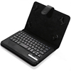 "7-8"" Universal Bluetooth Keyboard Case with Foldable Stand for Android 7"" Tablet PC"
