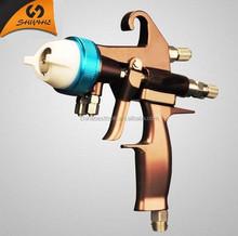 LVMP Spray gun new design with highly efficiency chrome plating water-borne paint spray gun