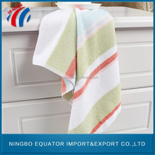 Wholesaler custom beach towel, 70% bamboo fiber 30% cotton hotel bath towel fabric, travel baby face towel