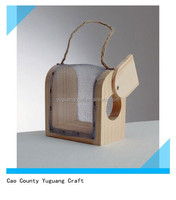 wooden kids bug box with wire net