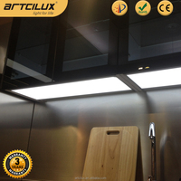 12V Super thin led under cabinet light set for kichen, led cabinet light with switches
