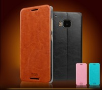 Mofi Flip PU Leather Mobile Phone Case Cover for HTC One M9